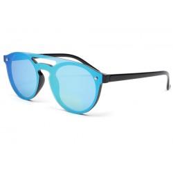 Lunette de soleil tendance miroir bleu Weyl