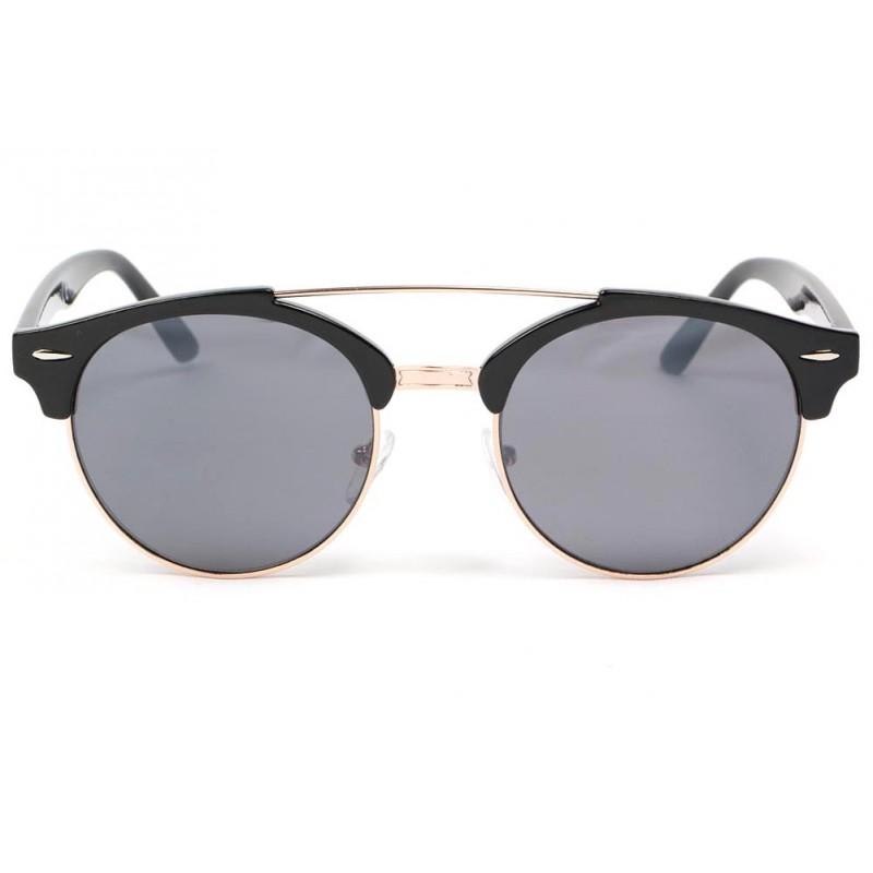 lunette de soleil ronde noir kroll lunette soleil vintage. Black Bedroom Furniture Sets. Home Design Ideas