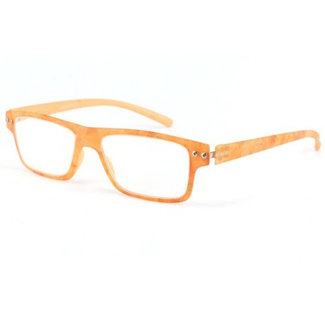 Lunette loupe fantaisie orange Faltea