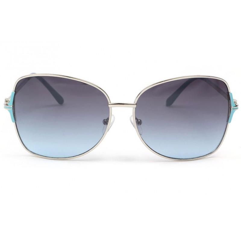 Eye Wear Lunettes de soleil femme grises et bleues Babe - Femme 5JCkC1vqNp