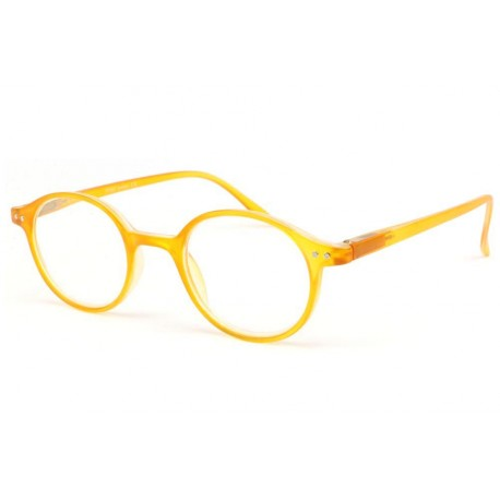 Lunette loupe Jaune ronde News