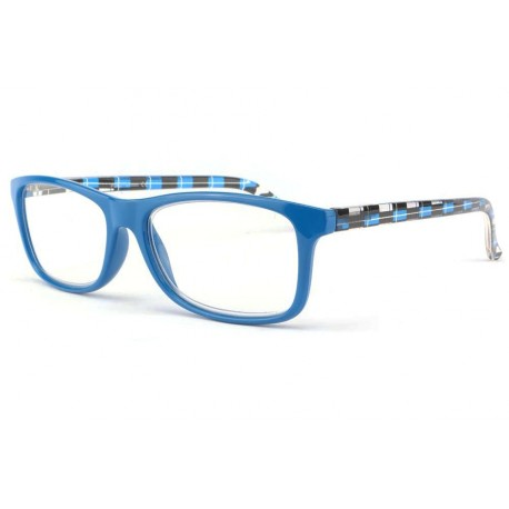 Lunette loupe fantaisie bleu Sury