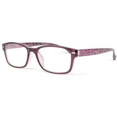 Lunette loupe femme fantaisie violette Nyla