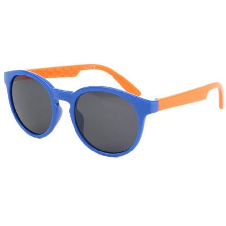 Lunette soleil enfant bleu et orange Kurtz 6 a 12 ans