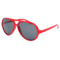 Lunette pilote enfant rouge Kool Enfant Eye Wear
