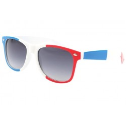 Lunette Soleil France Drapeau Bleu Blanc Rouge Pays/Supporter Eye Wear