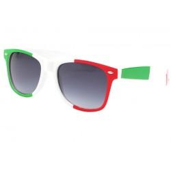 Lunette Soleil Italie drapeau Vert Blanc Rouge Pays/Supporter Eye Wear