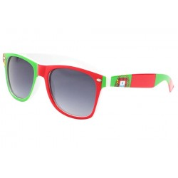 Lunette soleil Portugal drapeau vert rouge Pays/Supporter Eye Wear