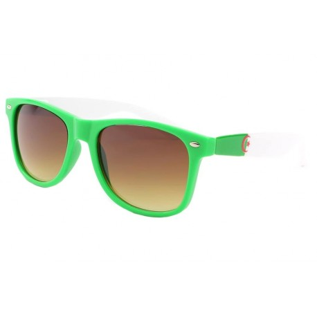 Lunette soleil Algerie Drapeau Vert et Blanc Pays/Supporter Eye Wear