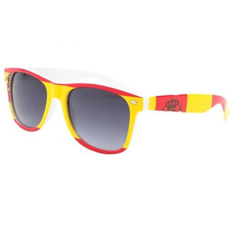 Lunette Soleil Espagne drapeau rouge et jaune Pays/Supporter Eye Wear