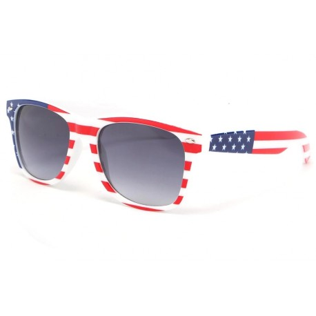 Lunette soleil USA drapeau stars and stripes