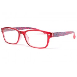 Lunette loupe rouge fantaisie Nyla