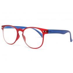 Lunette loupe rouge et bleue Marcy