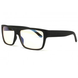 Lunette ecran rectangle noire Nash