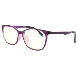 Lunette ecran violette luxe Passy Lunette écran Rosalba