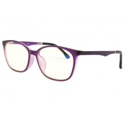 Lunette ecran violette luxe Passy