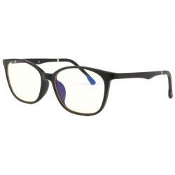 Lunette ecran noire rectangle luxe Passy