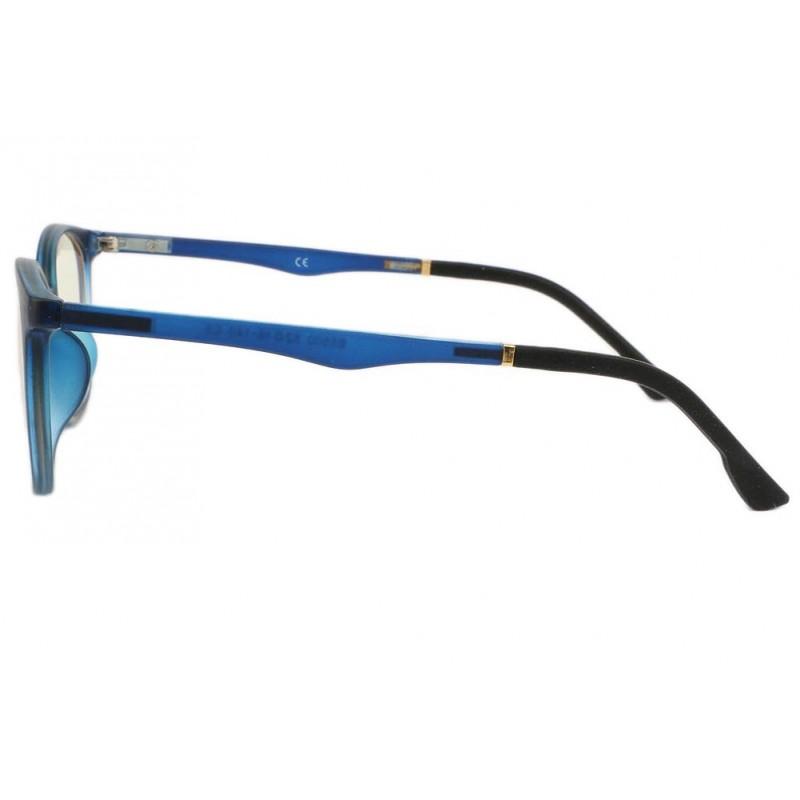 3e1a21240fac70 ... Lunette ecran bleu rectangle luxe Passy Lunette écran Rosalba ...