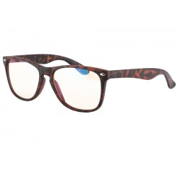 Grande Lunette ecran rectangle Marron Vintage Geekxy