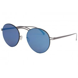 Lunette de soleil miroir bleu tendance Mazzy