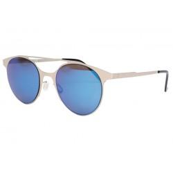 Lunettes soleil miroir bleu tendance Spoty Lunettes de Soleil Eye Wear