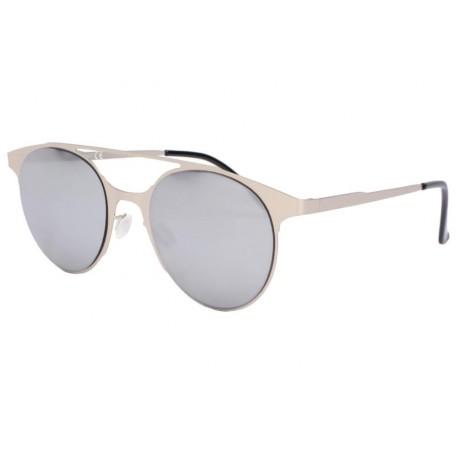 Lunettes soleil miroir argent tendance Spoty Lunettes de Soleil Eye Wear