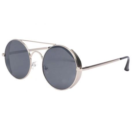 Lunette de soleil ronde grise tendance Oblada Lunettes de Soleil Eye Wear