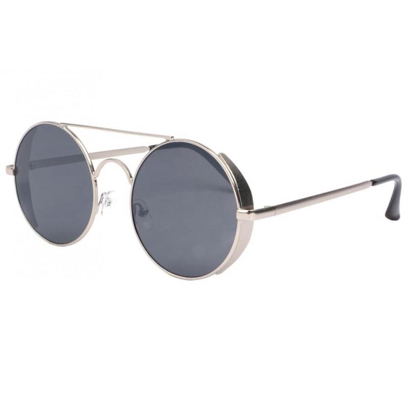 lunette soleil ronde grise oblada lunettes soleil. Black Bedroom Furniture Sets. Home Design Ideas