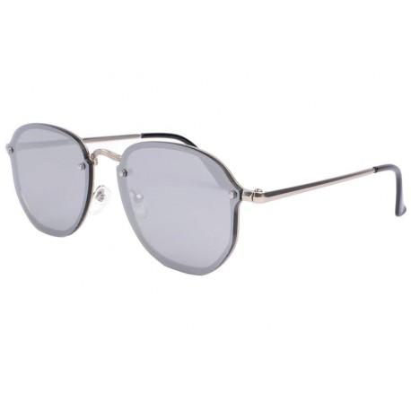 Lunette de soleil miroir gris classe Morys Lunettes de Soleil Eye Wear