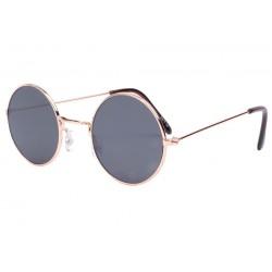 Petite lunette de soleil ronde dorée fashion Submy Lunettes de Soleil Eye Wear