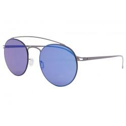 Lunette de soleil miroir Bleu tendance Waly Lunettes de Soleil Eye Wear
