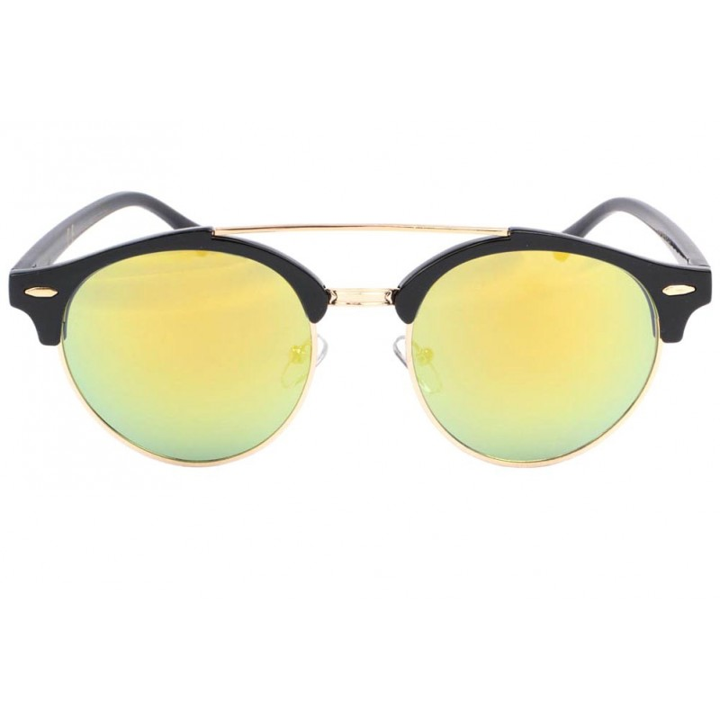 lunettes soleil miroir dor psiky lunettes soleil rondes. Black Bedroom Furniture Sets. Home Design Ideas