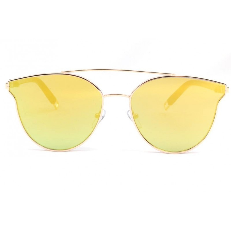 lunette soleil femme miroir dor lunette soleil luxe. Black Bedroom Furniture Sets. Home Design Ideas
