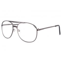 Grandes lunettes loupe métal noires Optya Lunette Loupe New Time