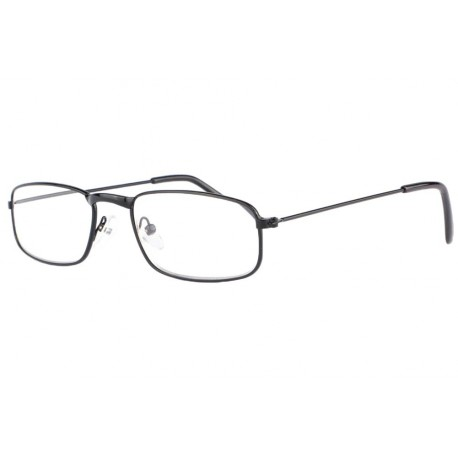 Lunettes loupe noires rectangles metal Flexya Lunette Loupe New Time