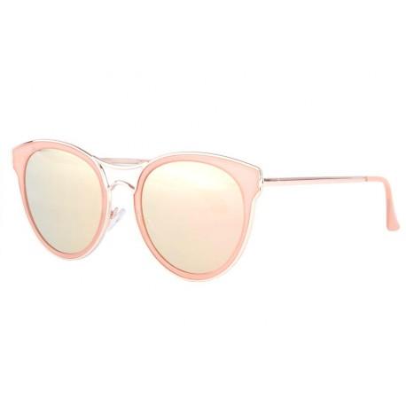 Lunettes soleil miroir rose femme tendance Faly Lunettes de Soleil SOLEYL