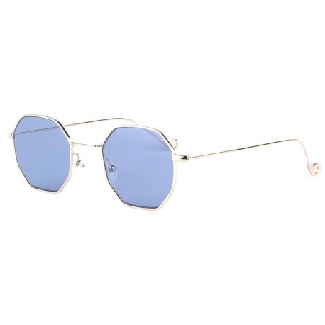 Lunettes soleil octogonales bleues fashion Eighty anciennes collections divers