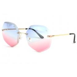 Lunettes soleil femme fashion rose et bleue Daisy Lunettes de Soleil Spirit of Sun