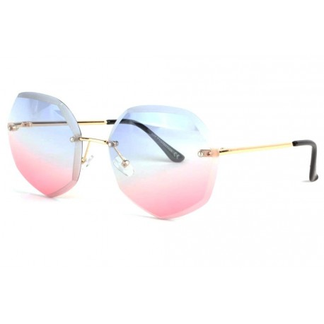 Lunettes soleil femme fashion rose et bleue Daisy anciennes collections divers