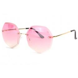 Grandes lunettes soleil femme fashion rose rondes Daisy Lunettes de Soleil Spirit of Sun