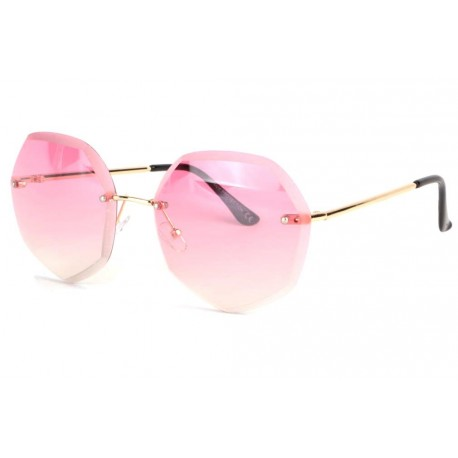 Grandes lunettes soleil femme fashion rose rondes Daisy anciennes collections divers
