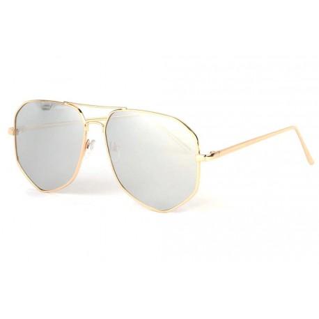 Lunettes soleil aviateur miroir argent fashion Garyo Lunettes de Soleil Spirit of Sun
