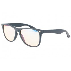 Grande Lunette ecran rectangle bleu marine Geekxy