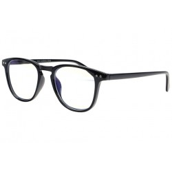 Lunette lumiere bleue rectangle noir Ordsee