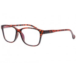 Lunette anti lumiere bleue retro marron Looktek