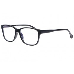 Lunette anti lumiere bleue noir mat classe Looktek Lunette écran New Time