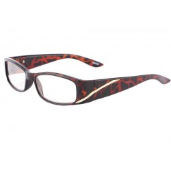 Lunettes loupe femme marron vintage Maly anciennes collections divers