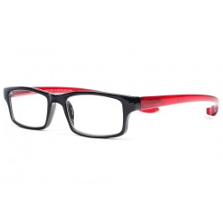 Lunettes loupe branches longues rouges Spiry Lunette Loupe ProLoupe