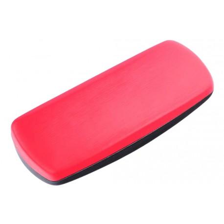 Etui lunette rigide rouge tendance Sox Accessoires lunettes Loupea