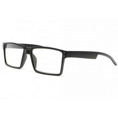 Lunettes loupes tendance noires rectangles Saty Lunette Loupe New Time